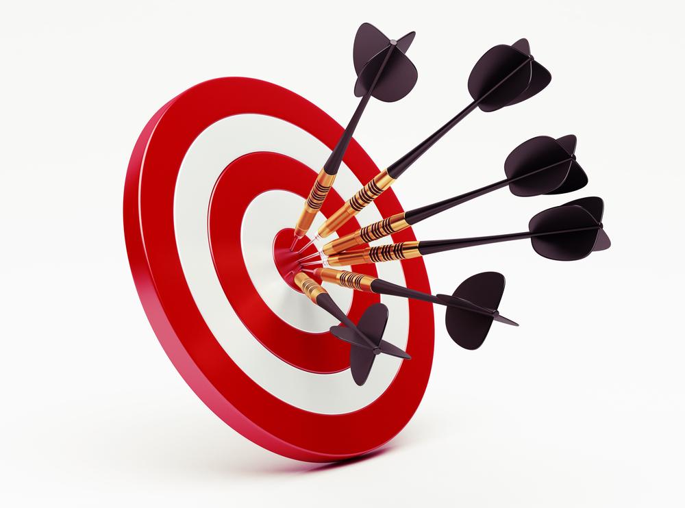 targeted-marketing-darts-board